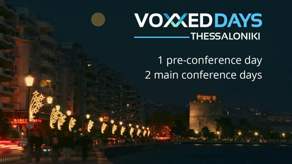 Voxxed Days Thessaloniki 2017