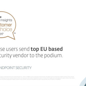 «Bronze Award» για τη λύση ESET Endpoint Security από τα Βραβεία «2017 Gartner Customer Choice Awards»
