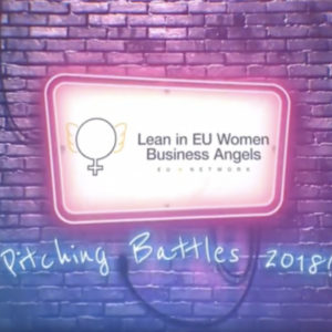3rd Lean In EU Women Business Angels - Pitching Battles Αθήνας στις 2 Νοεμβρίου