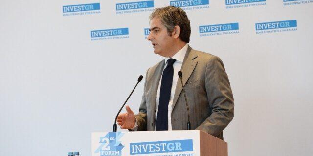 Α. Γιαννόπουλος, InvestGR: Να εδραιωθεί η εικόνα της Ελλάδας ως επενδυτικού προορισμού