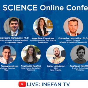 Ολοκληρώθηκε το ​Data Science Online Conference στο Inefan TV ​